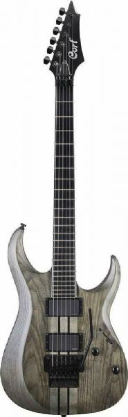 Cort Electric Guitar - Open Pore Trans Grey - X500-OPTG